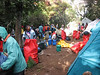 to many people in Forest Camp 2805m. (Kilimanjaro, Tanzania 2005)