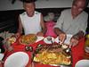 We lost 3-4 kg body weight, remedy: Chatteaubriand steak for one person, Everest Steak House Restaurant, Kathmandu