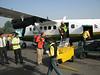 arrival airport Kathmandu