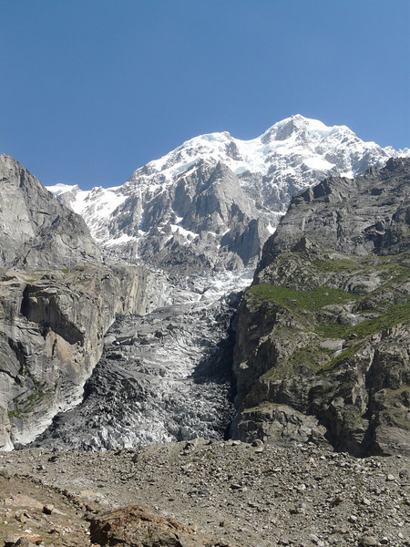 Ultra2 7320m. and glacier (Karimabad)