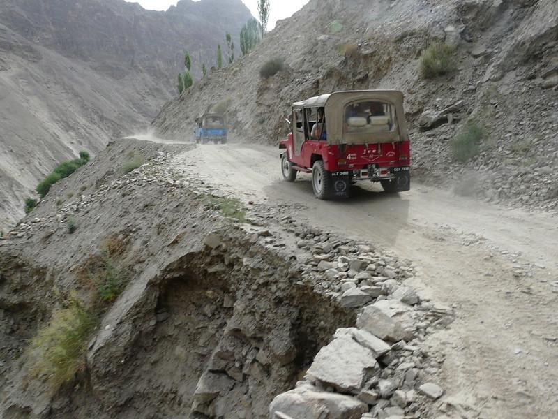Karakorum Highway KKH (Indus valley)
