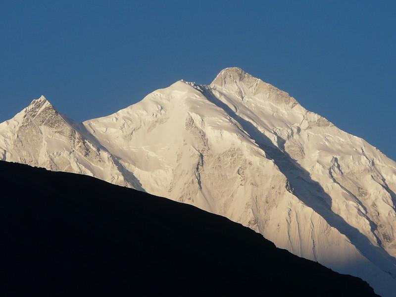 summit of Rakaposhi 7788m. (in the early morning)