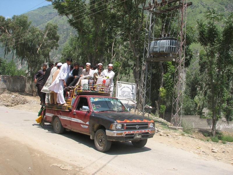 taxi (near Islamabad)