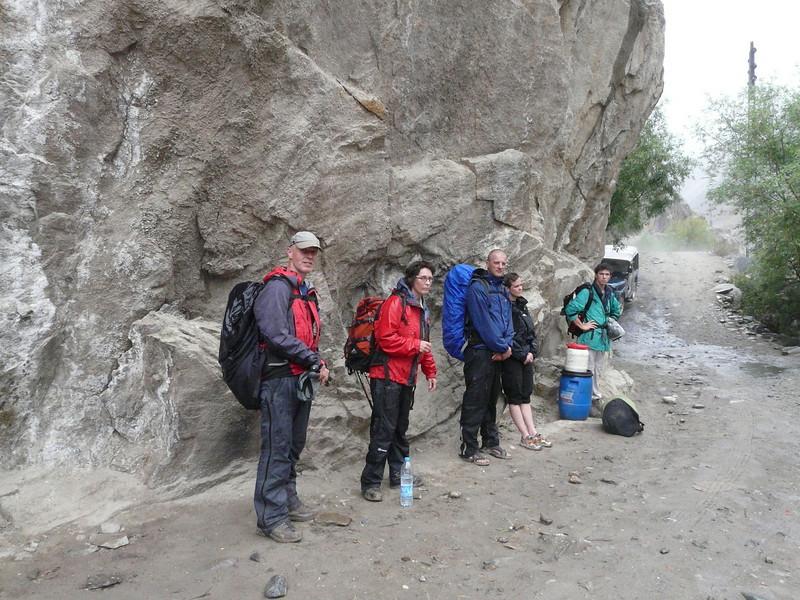 route Skardu - Askole (Skardu is the maincity of Balistan)