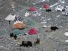 intermediate camp 1,5 (Tibet 2006 Lakpa Ri Expedition)