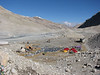 Everest Base Camp 5160m 18 oct. 2006 (Tibet 2006 Lakpa Ri Expedition)