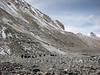 Camp 1,  5520m - Intermediate Camp 1,5  5780m.   20 Oct. 2006 (Tibet 2006 Lakpa Ri Expedition)