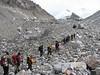 Camp 1 - Camp 1,5 (Tibet 2006 Lakpa Ri Expedition)