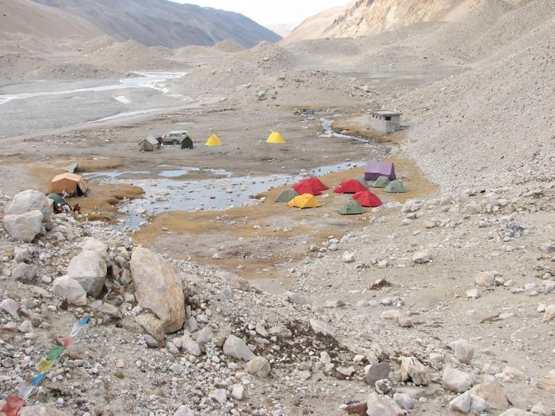 Everest Base Camp 5160m 18 oct. 2006 (Tibet 2006 Lakpa Ri Expedition)