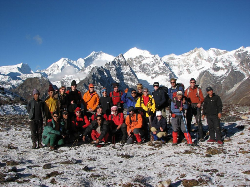 HT group  (Tibet 2006 Lakpa Ri expedition)