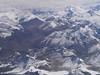 Chorten Nyima Range and Jongsang Peak north of Kangchenjunga, Himalayas (Kathmandu, Nepal - Lhasa, Tibet)