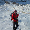 Penny Goddard, avalanche guru and our instructor for the weekend