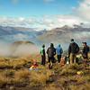 The team above Lake Wakatipu