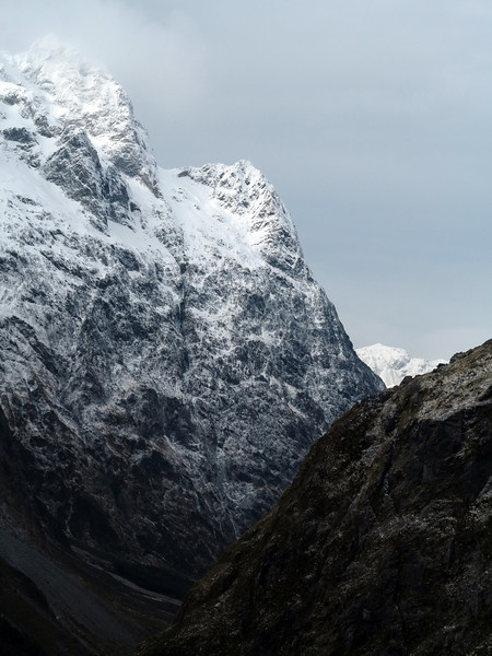 Mt Christina, Jean Batten Peak in the distance