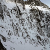 North Peak of Mt Christina from the crag