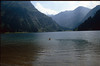Swimming in the Vils-alpsee (Tannheimer mountains Austria 1986)