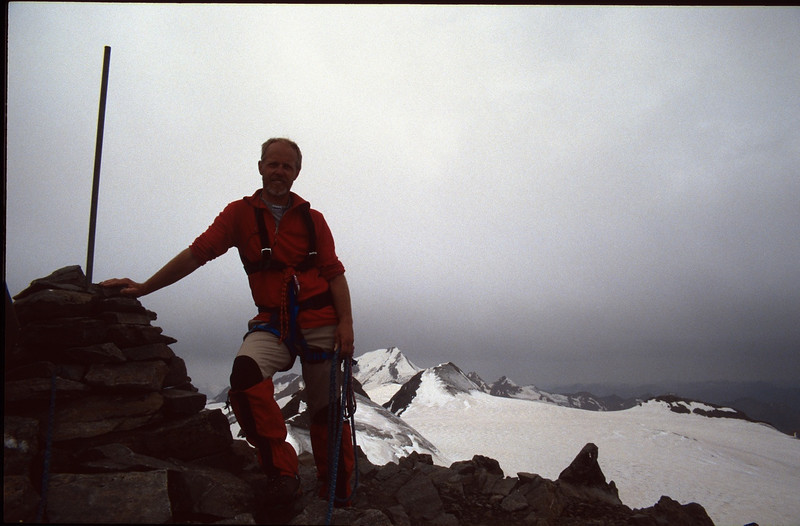Hintereisspitze 3437m. (Vent, C1 course: rock and ice and tour, 1999)