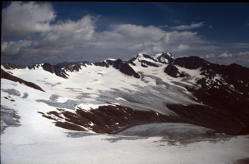 Otztaler Alps (Vent, C1 course: rock and ice and tour, 1999)