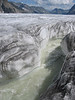 Glacier river, Grosse Aletsch Glacier  (BernerOberland2004 )