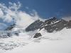 Rottalhorn, Rottalsattel and Jungfrau 4158m. (BernerOberland2004)
