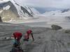 9 Aug. Konkordia Hutte 2850m. -- Finsteraarhorn Hutte 3048m. (BernerOberland2004)