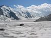 route Jungfraujoch -   Konkordia Hutte 2850m. Grosse Aletsch Glacier and Concordiaplatz (BernerOberland2004 )