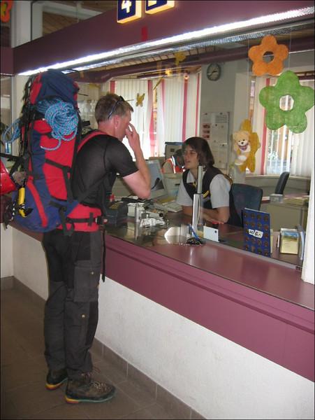 17 - 20 July, continuation climbingtour with Mark van 't Hof in Switserland (berneroberland2005, Grinderwald)