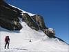 17 July, ascent to the Mönchjochhütte 3657m. (Berner Oberland 2005)