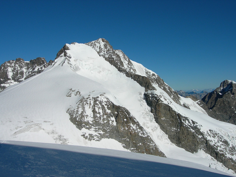 Piz Bernina 4048m. (view from the South)