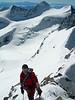 Climbing of Piz Bernina (the subsummit La  Spedla 4020m.)