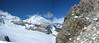 panorama Bernina Alps