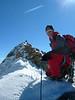 West summit Piz Palu, Piz Spinas 3823m.
