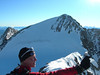 Photograph with Piz Zupo 3996m.