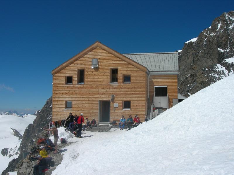 Rifugio Marco Rosa CAI 3610m. (near Piz Bernina)