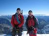 West summit, Piz Spinas 3823m.