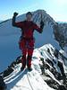 summit of Piz Argient 3945m. (background Piz Zupo 3996m.)