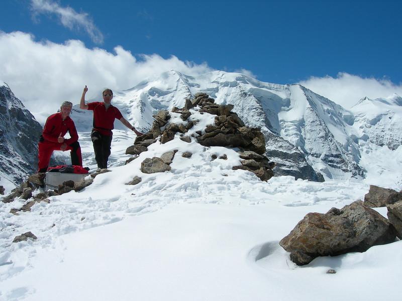 summit of Piz Trovat 3146m