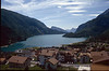 Molveno with lake (Trento, Italy)