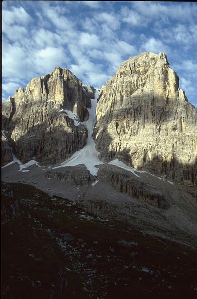 Cima Tosa 3173m. and Crozzom 3135m. (Dolomiti di Brenta)