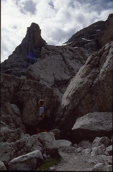 klettersteig (Brenta dolomites)