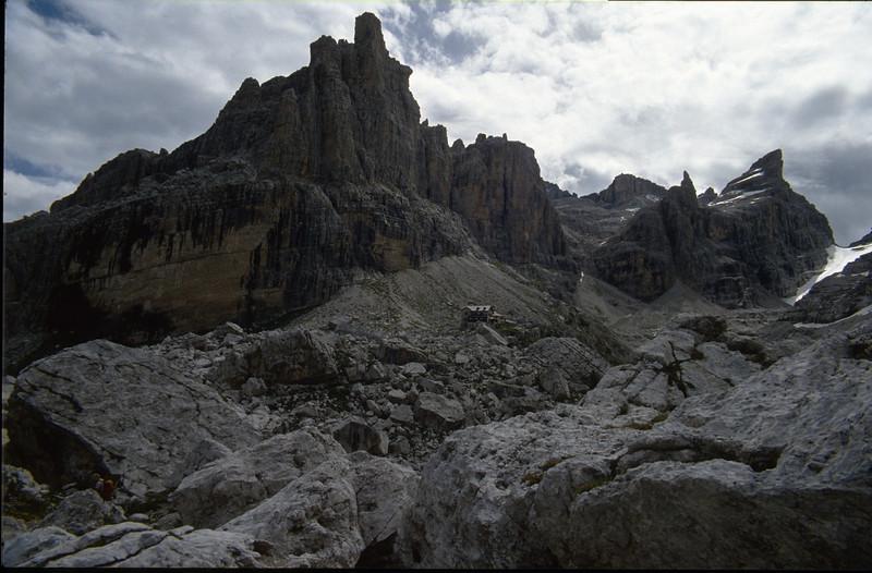 Rifugio Tuckett 2268m. CAI (Brenta dolomites)