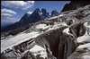 Glacier Blanc and Mont Pelvoux 3943m (the Ecrins 1992)