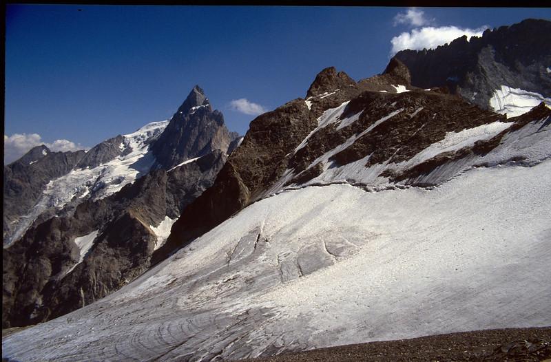La Meije, 3982m. (the Ecrins 1993)