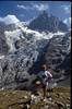 Jeroen and La Meije 3982m. (the Ecrins 1993)