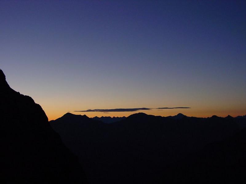4.00h. ascent Mont Pelvoux (10-8-2006)