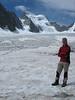 Glacier Blanc and Barre des Ecrins (ascent to Refuge des Ecrins )