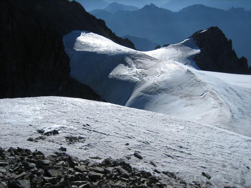 ascent to Mont Pelvoux