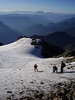 descent of  Mont Pelvoux