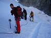 ascent to Barre des Ecrins 4102m.