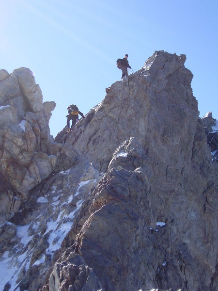 ascent of Pic Lory 4088m.